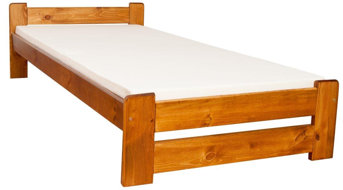łóżko Sosnowe Figaro 90x200 Dąb