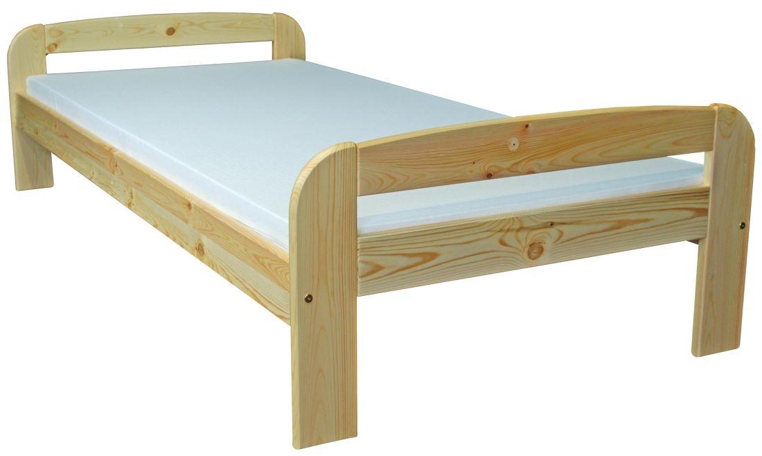 łóżko Sosnowe Bartek 90x200 Sosna